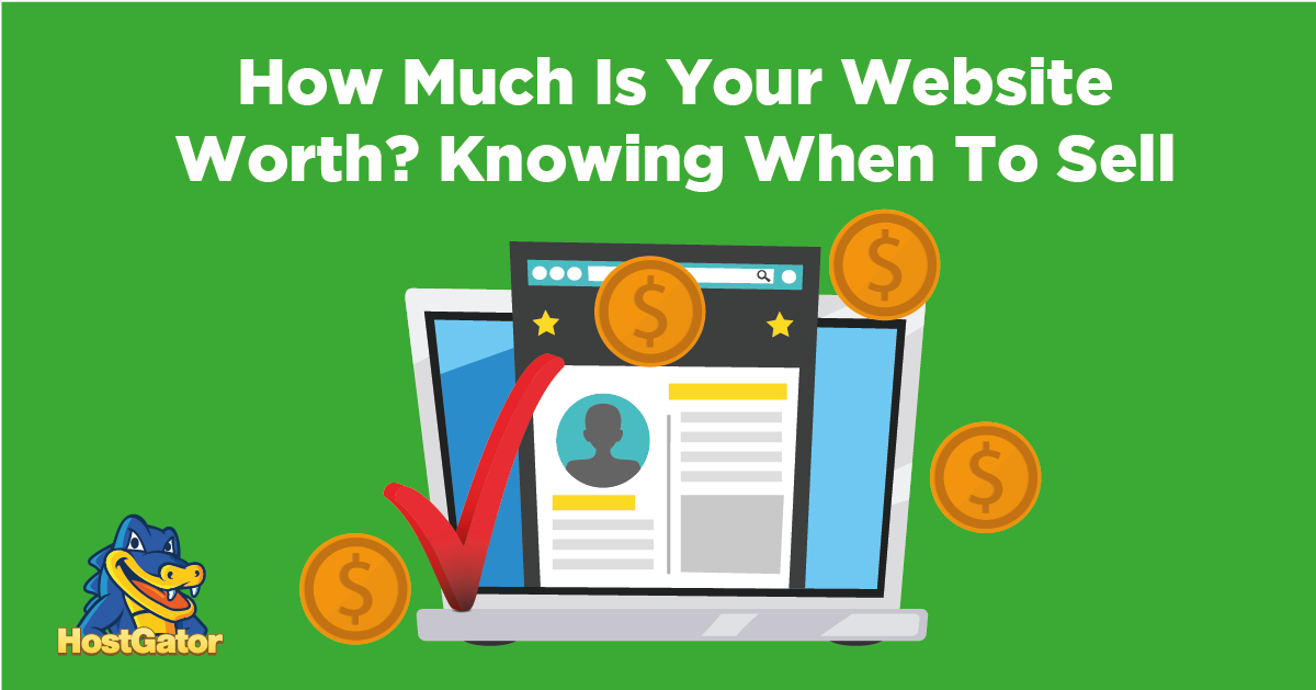 how much is your website worth knowing when to sell your website
