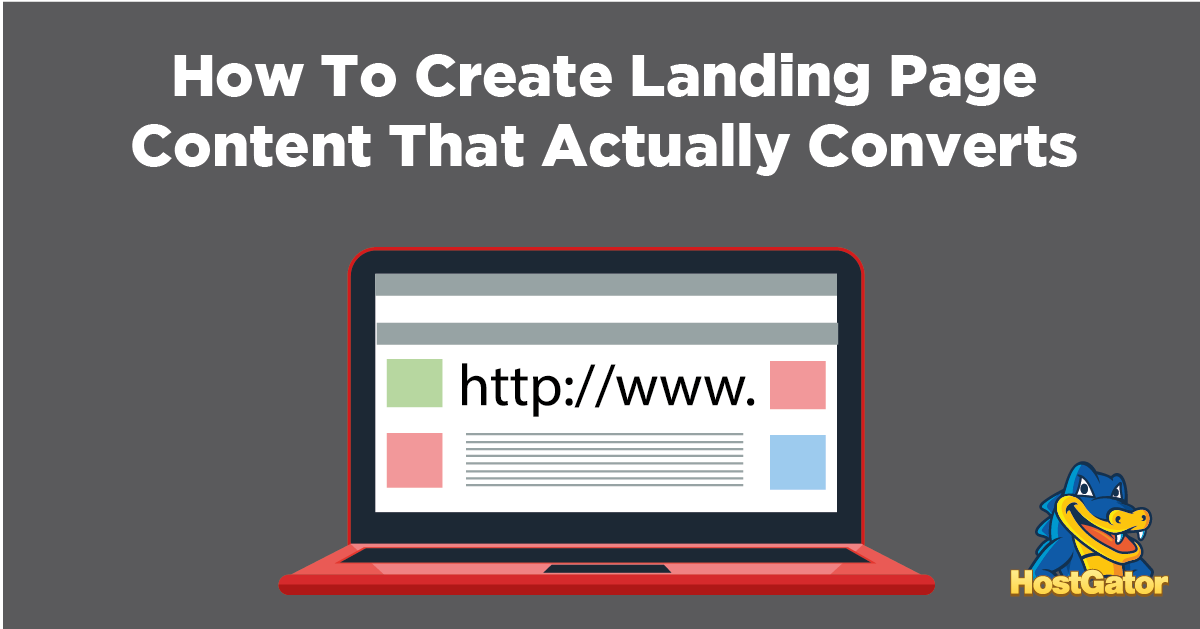 how to create landing page content that actually converts