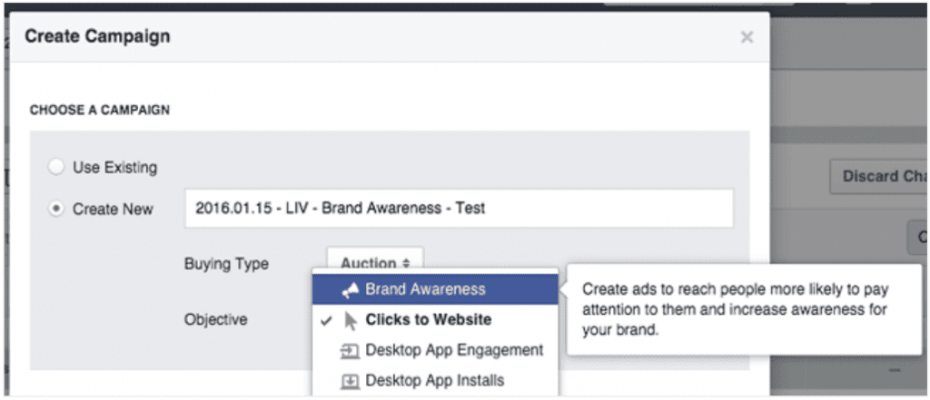 create facebook ad campaign for small business