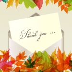 show your customers that you're thankful for them