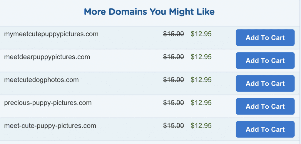 use domain name suggestion tool
