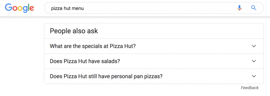 people also ask for keyword research